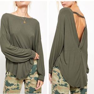 NWT! Free People Shimmy Shake Top